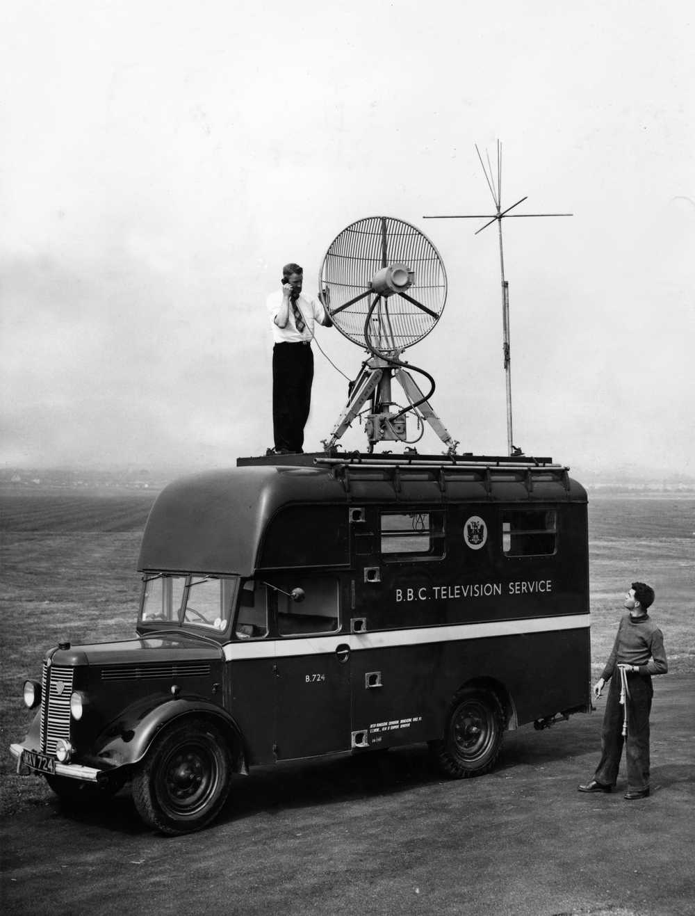 Broadcasting innovations date back decades.